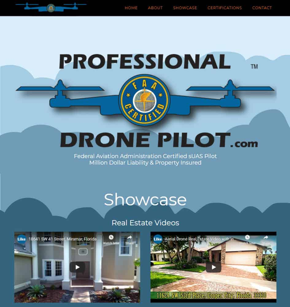 Drone Aerial Photography Service