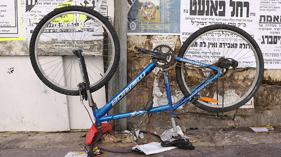 Sample Art Israel Bike